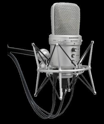 Microfono speaker per doppiaggio video