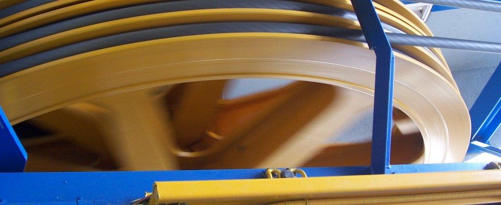 Filmato motore industriale a Piacenza