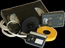 Video cassette VHS e vecchie pellicole